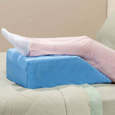 Light weight foam leg feet back lift positioning wedge pillow w/ washable cover