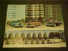 1959 ORIGINAL STUDEBAKER LARK SALES DEALER BROCHURE PROSPEKT 59 LOT GROUP OF 29