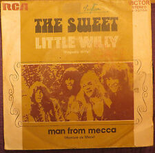 THE SWEET: PEQUEÑO WILLY (SPANISH SINGLE) VERY RARE !!!!! ALICE COOPER