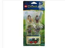 NIP Lego Legends of Chima Accessory Set 4 Minifigs  Chima Outlands