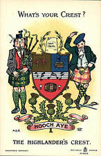 Heraldic Comic. What's Your Crest? in Reliable Series # 9308. Highlander's Crest