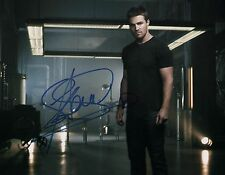 """"""" Arrow """" Stephen Amell Signed 8x10 Photo ( Not A Pre-Print ) Oliver Queen Proof"""