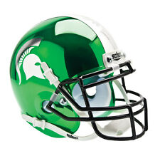 MICHIGAN STATE chrome Authentic Mini Helmet