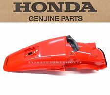 New Genuine Honda Rear Fender 2000-2007 XR650 R OEM Fighting Red Mudguard #E43