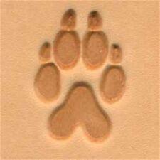 Wolftrack 2d Herramienta De Sello De Cuero-pata CRAF 2-d sello impresión Tandy 88286-00