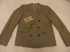 ALL SAINTS MENS PICKET BLAZER/JACKET IN SAND BNWT SIZE 38 SOLD OUT!  RRP £250
