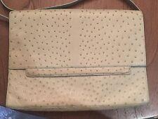 New Nancy Gonzalez Green Ostrich Handbag Clutch Rare $5,000