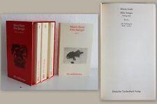 Maxim Gorki: Klim Samgin -Roman in 4 Bänden + Schuber dtv Weltliteratur 1982 -xz