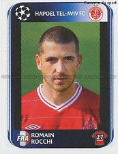 N°133 ROCCHI # FRANCE HAPOEL TEL-AVIV UEFA CHAMPIONS LEAGUE 2011 STICKER PANINI