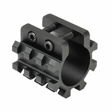 Shotgun Magazine Tube Rail Mount - Tri Rail 3 Position Slots - Tactical Shotgun