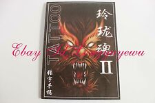 "TATTOO FLASH BOOK 11"" Chinese Tradition  Samurai Dragon Fish Tiger Flower"