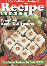RECIPE DIGEST SEPTEMBER 1994 PREMIER ISSUE MAGAZINE COOKBOOK VOL. 4, NO. 3 CAKES