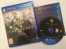 PLAYSTATION 4 PS4 GAME THE ORDER 1886 PAL GWO DISC IS IN EXCELLENT CONDITION