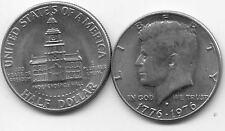 ETATS-UNIS USA AMERIQUE KENNEDY 50 cts 1976 indépendance état voir scan