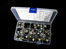 15value 48pcs 14x1 16x2 RV12 RV17 Rotary Switch Radio Potentiometer Box kit