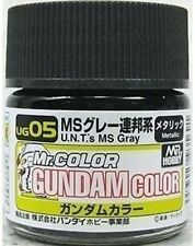 MR HOBBY SPECIAL GUNDAM MODEL KIT COLOR PAINT 10ml UG05 U.N.T. MS GREY