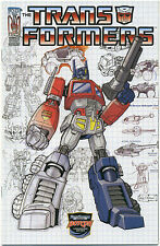 TRANSFORMERS INFILTRATION #0 Botcon Exclusive Cover; 2005 IDW Optimus Prime