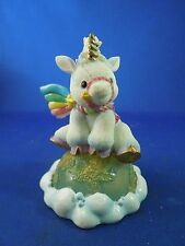 Vintage 1995 Enesco Starlight Starbright Unicorn Figurine The World Can Be Yours