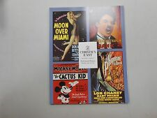 Christie's East Hollywood Posters auction catalogue! Monday, June, 14, 1993!