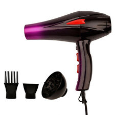 4000W Hair Dryer Hot / Cold Air Hair Fast Styling Blow Dryer with Two Nozzles