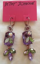 NWT Betsey Johnson Spring Fling Earrings