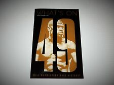 What's On Las Vegas Magazine Floyd Mayweather vs Berto Boxing Aug 2015 Issue NEW