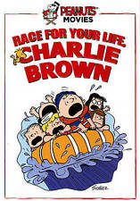 RACE FOR YOUR LIFE, CHARLIE BROWN! (NEW DVD)