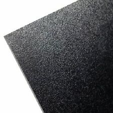 2 Black ABS Plastic Sheet 12 x 12 x 1/16 Flexible Smooth Back High Quality*