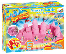 HGL Girls Kids SandSculpt Princess Castle Reusable Sand Play Toy & Creative Set