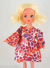 Sindy PUFF SLEEVES 1972 DRESS | No Doll | Vintage Pedigree Sindy Doll