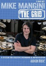Mike Mangini: The Grid 2 DVD Set Instructional Drum  DVD NEW 000122009