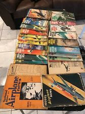 MODEL AIRPLANE NEWS 1930's-1960's Magazine Lot