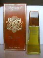 REVILLON 4  PARFUM  DE TOILETTE splash 236 ml ORIGINAL RARE VINTAGE