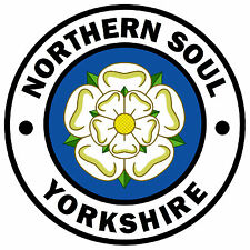 NORTHERN SOUL - YORKSHIRE (COLOUR) - CAR / WINDOW STICKER + 1 FREE