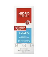 HIDROFUGAL Germany - Classic - Highest Protection ( Forte ) - Atomizer - 30 ml