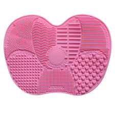 Silicone Makeup Brush Cleaner Clean Mat Hand Tool Sucker Washing Scrubber Board