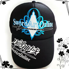 Anime Sword Art Online Cotton Tennis Baseball cap adjustable size Sun Hat New AA