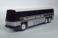 DD Jimson MCI 96A-3 Fellowship Tours, Inc. Plastic Coin Bank Intercity Coach Bus