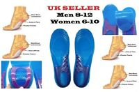 UK HIGH QUALITY NEW ORTHOTIC ARCH SUPPORT MASSAGING GEL INSOLES