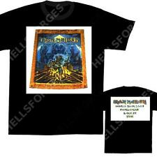 IRON MAIDEN T-SHIRT Somewhere Back #6 L NEUF tee w