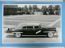 "12 By 18"" Black & White Picture 1950 Lincoln Special Conv. Presidential Limo."