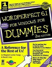 WordPerfect 6.1 For Windows For Dummies (For Dummies (Computers)), Kay, David C.
