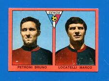 CALCIATORI Mira 1967-68 - Figurina-Sticker - PETRONI-LOCATELLI - GENOA -Rec