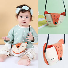 New Child Kids Baby Shoulder Bag Crossbody Cute Fox Felt Fabric Girl Gift Small#