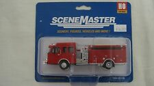 Walthers/Boley SceneMaster HO Heavy Duty Fire Engine #949-13800