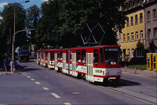 542011 Tatra type KT4D Cars Erfurt Eastern Germany A4 Photo Print