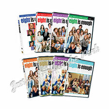 Eight 8 Is Enough: Complete TV Series Collection Seasons 1 2 3 4 5 Box Sets New!