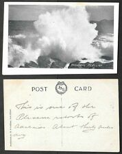 Old Australia Postcard - Pt. Elliot - Breakers