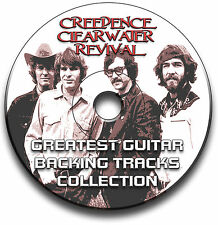 CREEDENCE CLEARWATER REVIVAL STYLE ROCK GITARRE AUDIO PLAYBACK TITEL CD LIBRARY