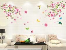 Wandtattoo Blumen Wandaufkleber Wallsticker Schlafzimmer Wohnzimmer Home Dekor